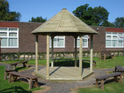 Playground Equipment for Schools - Quiet Learning Areas
