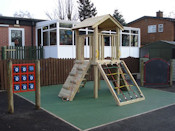 Playground Equipment for Schools - Outdoor Climbing Frame